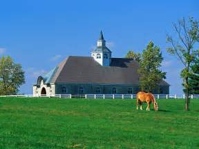 Farmhouse Ranch by Donamire Horse Farm Lexington Kentucky Picture Donamire