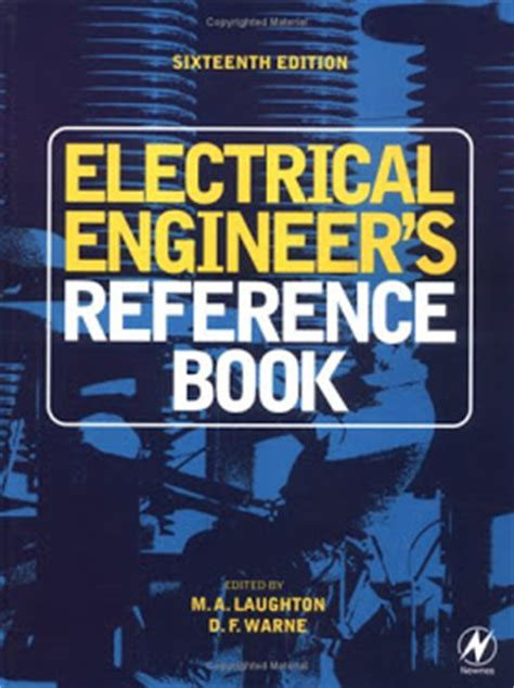 engineering books electrical engineer s reference book