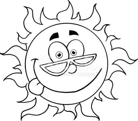imagenes sol negro dibujos animados de blanco y negro sol con gafas de sol