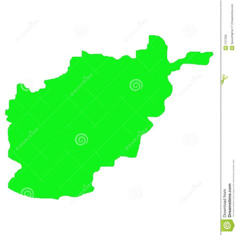 Afghanistan Country Map Outline by Afghanistan Outline Map Stock Illustration Image Of Borders 7727356