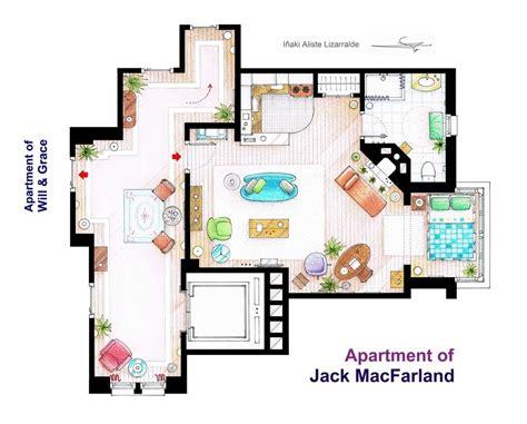 Sitcom House Floor Plans by Te Ense 241 Amos Los Planos De Las Casas De Tus Series De Tv
