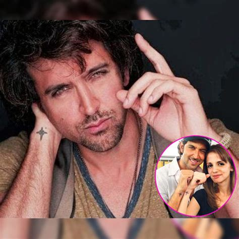 tattoo on hrithik roshan hand hrithik roshan got inked on his fore arm with the six