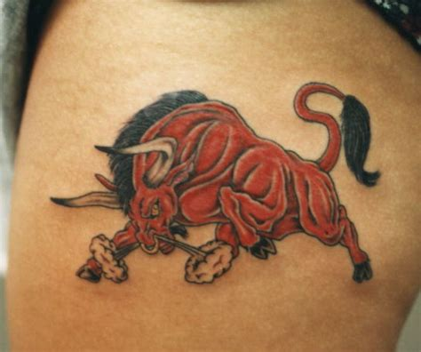 bull tattoo meaning 20 amazing bull design their meaning with pictures