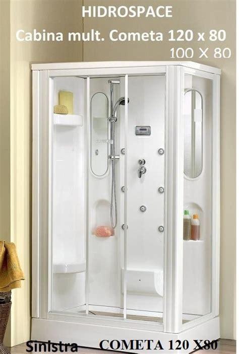 cabine multifunzione doccia cometa cabina doccia multif 80x120 80x100