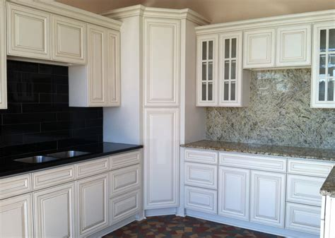 antique white maple rta kitchen cabinets