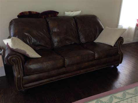 hancock and moore leather sectional prices brown leather hancock and moore sofa couch for sale