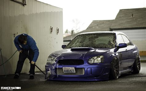 stanced subaru slammed duo stancenation form gt function