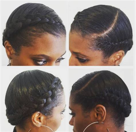 crown twist braid on african hair 11 crown braid styles perfect for spring protective