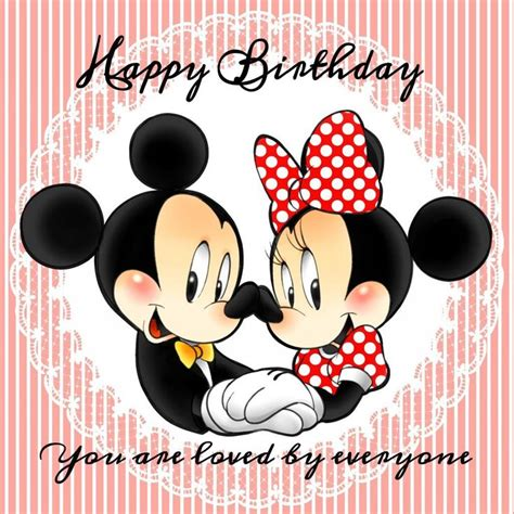 Mickey Mouse Happy Birthday Wishes 488 Best Mickey And Minnie Mouse Images On Pinterest