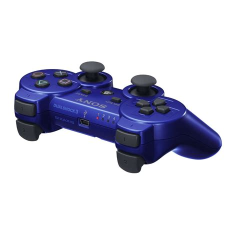 Blue Ps3 8 playstation 3 dualshock 3 controller blue