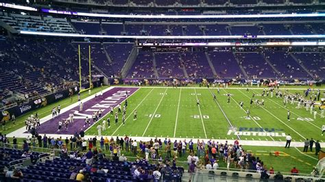 Section One Football by U S Bank Stadium Section 133 Rateyourseats