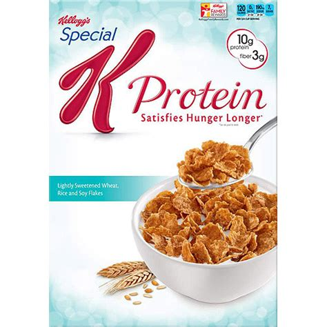 k protein cereal kellogg s special k protein plus cereal walmart