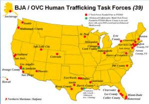 human trafficking map united states the trafficking at the bowl