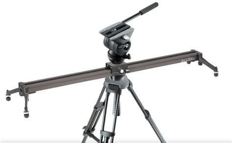libec launch allex combination tripod and slider kits newsshooter