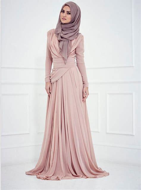 Maxi Longsleeve Dress Gamis Hijabers Busana Muslim mermaid embroidery work arabic sleeve evening dresses