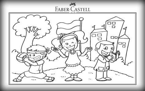 Kaos Vans Catur lomba mewarnai faber castell 2015 anak kreatif faber castell