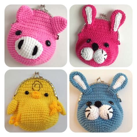 Coin Pocket Crochet Rajut 3 17 best images about crochet small bags purses and phone