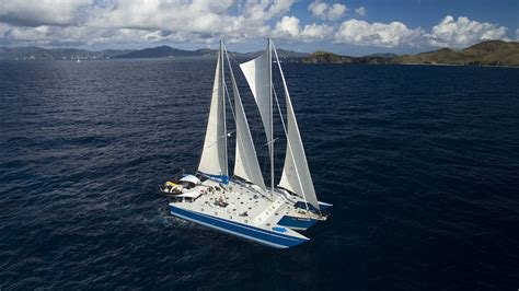 sailing boat vacations luxury sailing vacations in the british virgin islands on