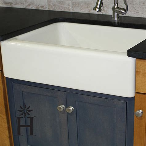 30 Inch Kitchen Sink Italian Fireclay 30 Inch Farmhouse Kitchen Sink Contemporary Kitchen Sinks By Overstock
