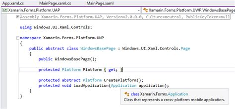 converter xamarin forms cannot convert from helloxuwp app to xamarin forms