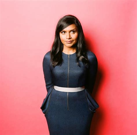 mindy kaling sitcom mindy kaling wasn t hot enough to play herself on her