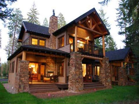 small cabin style house plans mountain lodge style home plans small craftsman style