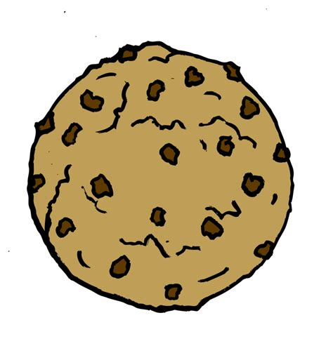 chocolate chip cookie template printable