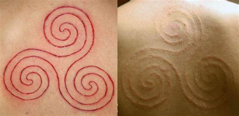 octopus scarification tattoos and body mods pinterest scarification fresh and healed tattoos pinterest
