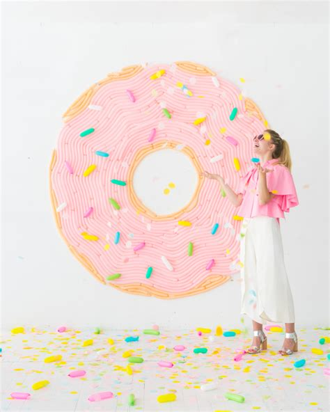Balon Donut donut balloon wall