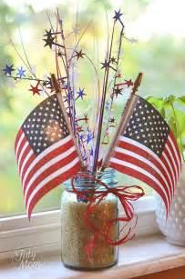 Patriotic Table Decorations Patriotic Holiday Table Decor The Bright Ideas Blog