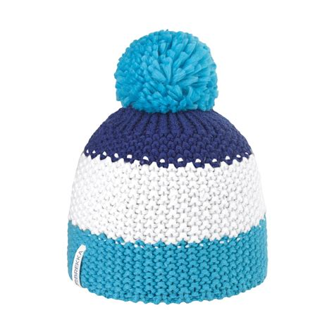bonnets de bonnet pompon ski bleu bonnet ski brekka