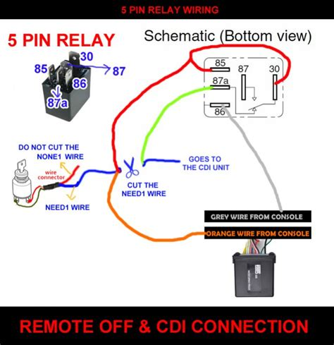 5 pin automotive relay wiring diagram 5 pin dmx wiring