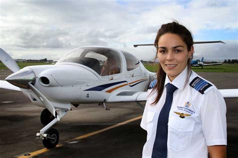 commercial woman pilot female pilot tops class massey university