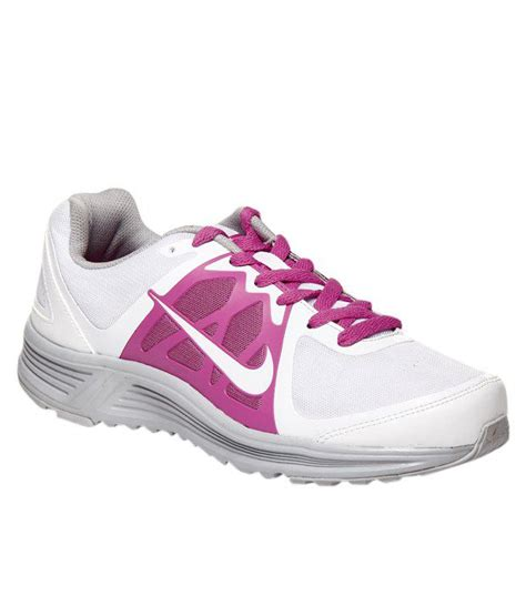 nike emerge white pink sports shoes price in india buy