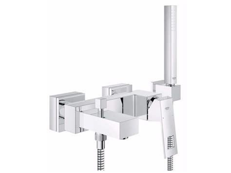 bathtub mixer eurocube bathtub mixer with hand shower by grohe