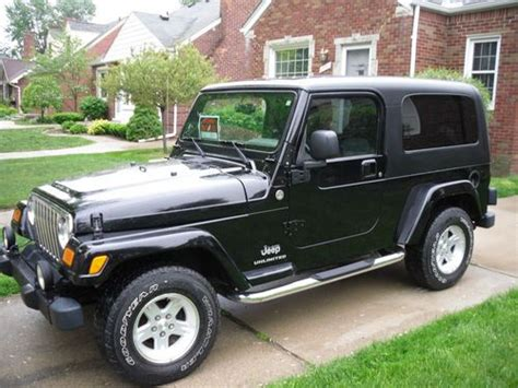 Jeep Wrangler 4 Door 2005 Purchase Used 2005 Jeep Wrangler Unlimited Sport Utility 2