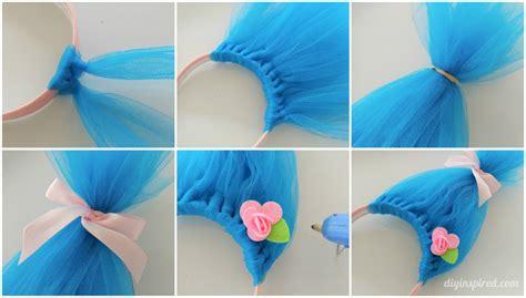 the craft diy hair and diy troll hair headbands costumes craft and birthdays