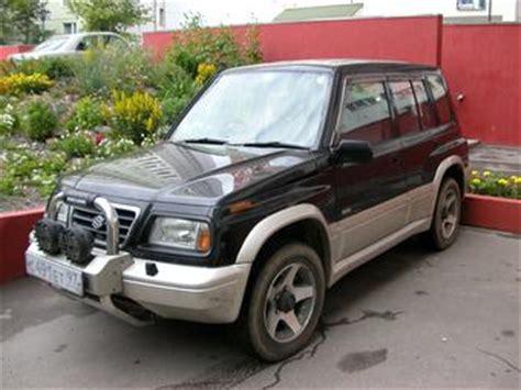 Suzuki Escudo 1996 1996 Suzuki Escudo Pictures 2 0l Gasoline Automatic