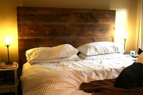 diy barnwood headboard barn wood projects