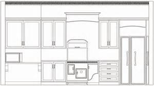 Kitchen Elevation Dwg Kitchen Elevation Drawings In Autocad Studio Design