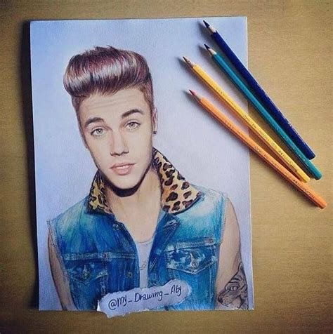 justin bieber painting justin bieber draw drawings
