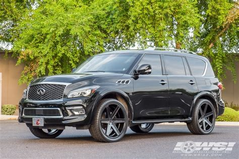 maserati truck on 24s 2017 infiniti qx80 with 24 quot giovanna dramuno 6 in satin