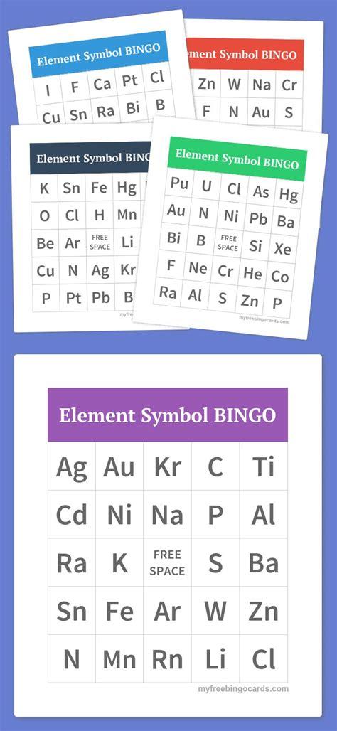 periodic table bingo 292 best bingo teaching resources images on pinterest