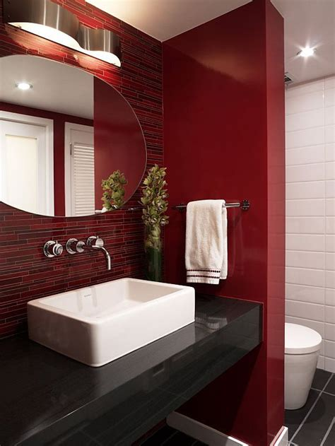 red bathroom ideas best 25 red rooms ideas on pinterest