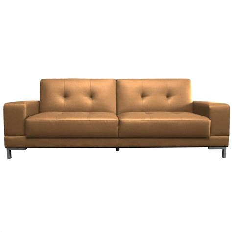 Convertible Sofa by Lifestyle Solutions Serta Metropolitan Mocha