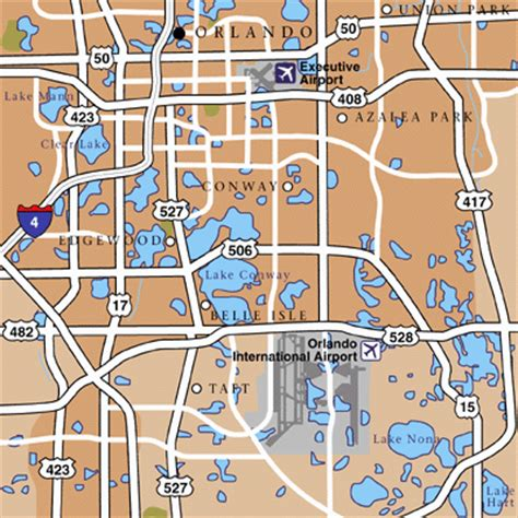 mco map orlando maps maps to get to and from orlando mco airport
