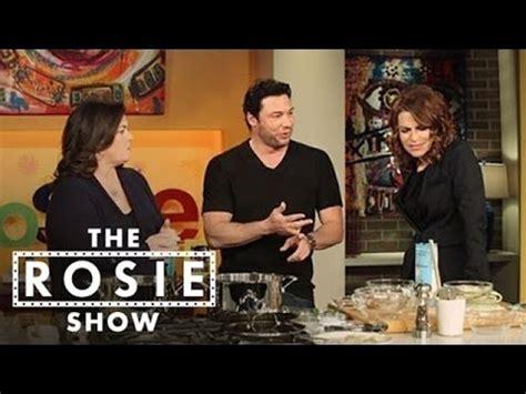 Rosie Shows Again by Chef Despirito Makes Healthy Chicken Noodle Soup