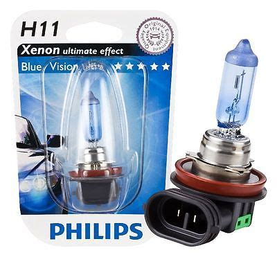 Lu Motor Philips Blue Vision just motor מבית אבי חלקי חילוף נורה h11 פיליפס philips