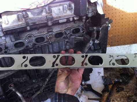 diy  volvo  exhaust manifold replacement volvo forums