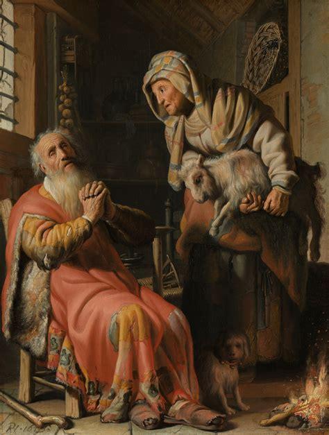 libro rembrandts universe his art rembrandt harmensz van rijn tobit en anna met het bokje 1626 bijbel en kunst